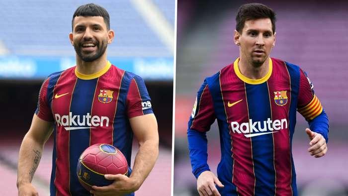 Tình bạn giữa Messi và Aguero có thể đảm bảo ngôi sao Barcelona ở lại Camp Nou