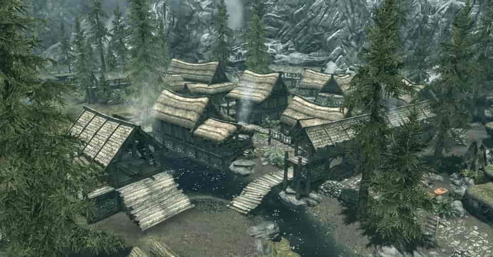 Skyrim Player vẽ lại bản đồ của các thành phố trong trò chơi